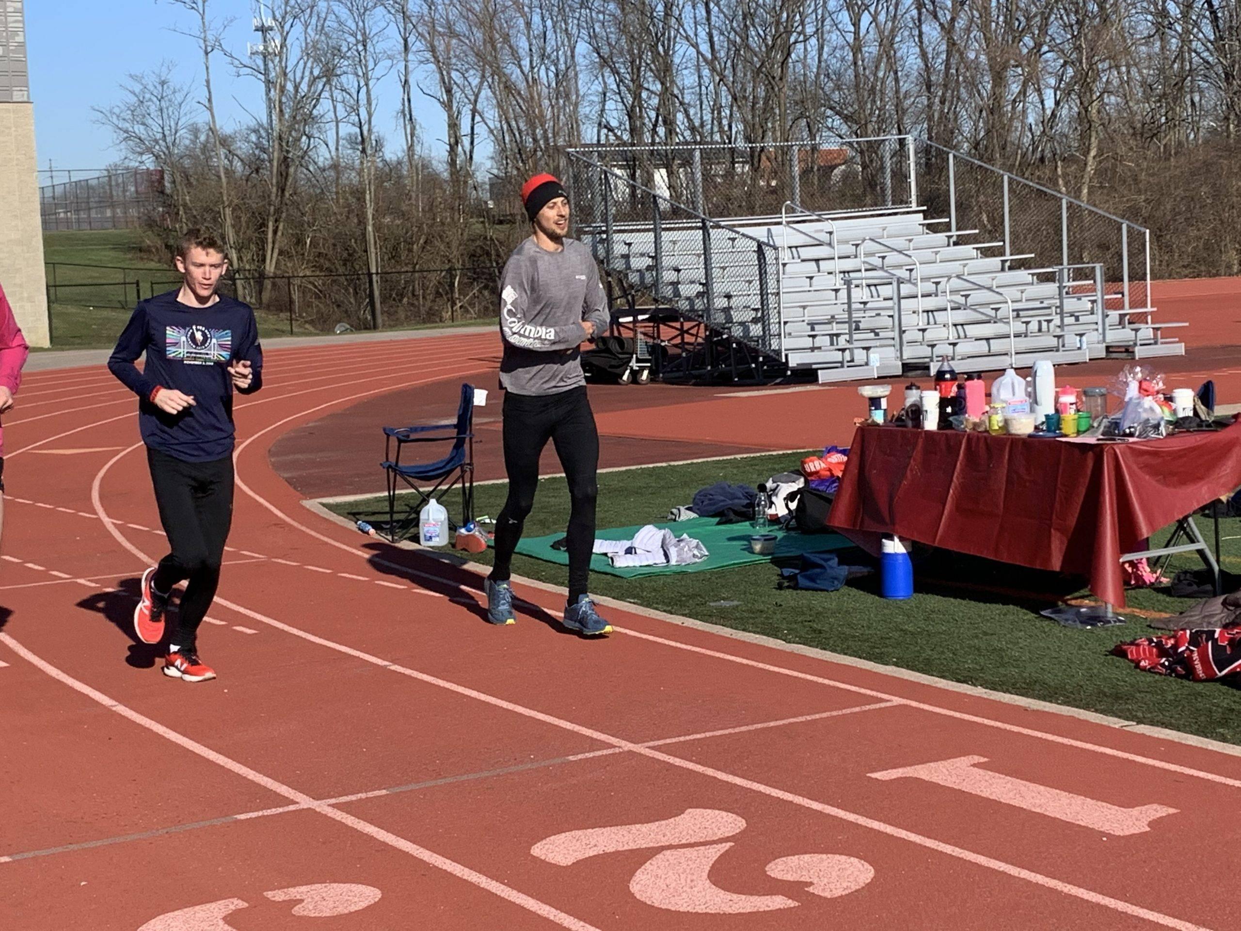 Track 100 Mile Run Recap